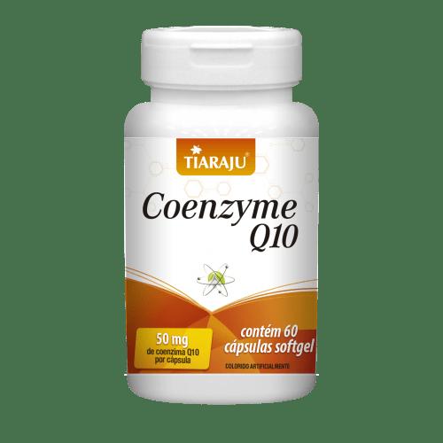 Coenzyme Q10 50mg Tiaraju 60 Cápsulas
