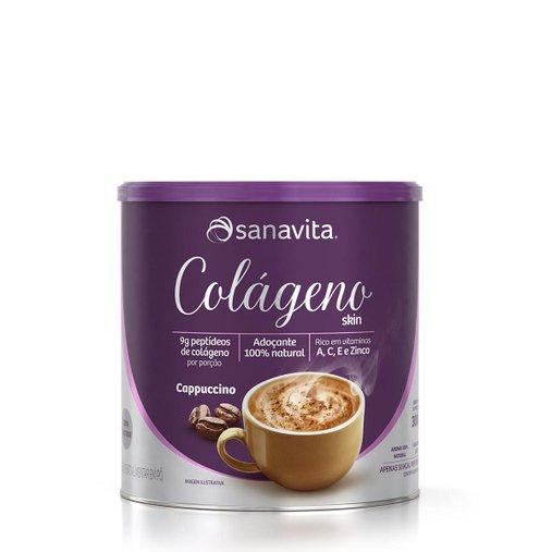 Colágeno Hidrolisado sabor Cappuccino Sanavita 300g