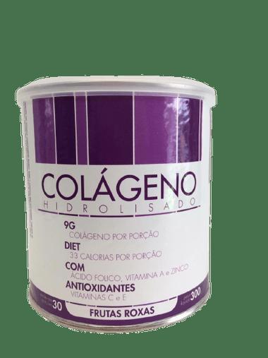 Colageno Hidrolisado Sabor Frutas Roxas Biofhitus 300g
