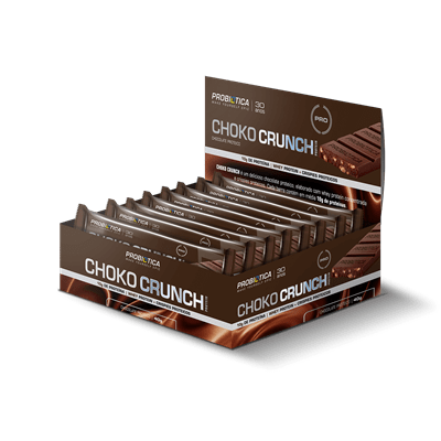 Choko Crunch Bar Chocolate ao Leite Probiótica 12 und x 40g