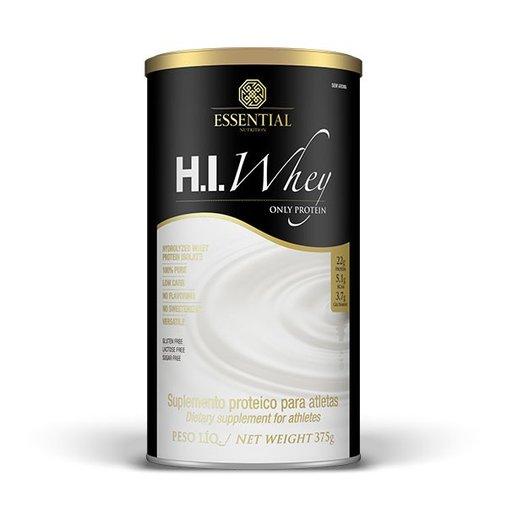 Hi Whey Protein Sem Aroma Essentail Nutrition 375g