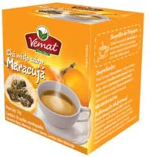 Chá Misto Sabor Maracujá com 10 sachês Vemat 13g