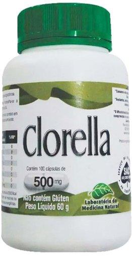 Clorella 500mg Medinal 100 Cápsulas