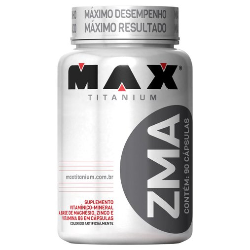 ZMA Max Titanium 90 Cápsulas