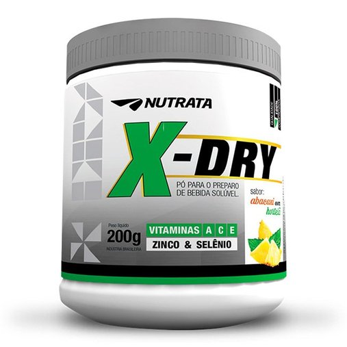 X Dry Desintoxicante Abacaxi com Hortelã Nutrata 200g