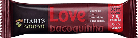 Barra Harts Natural Love Paçoquinha 35g