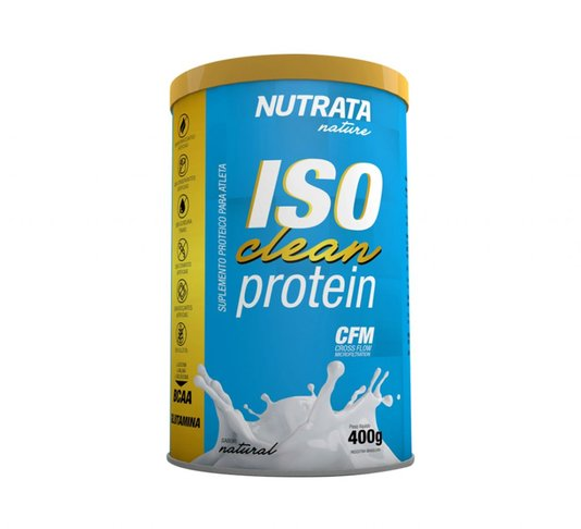 Iso Clean Protein Natural Nutrata 400g