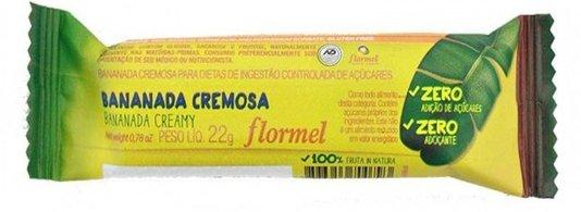 Bananada Cremosa Zero Açúcar Flormel 22g
