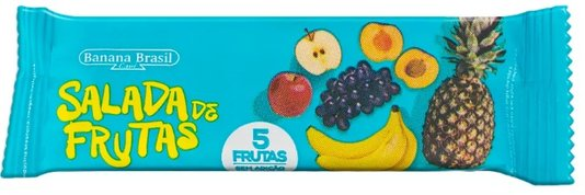 Barra Salada de Frutas Banana Brasil 20g
