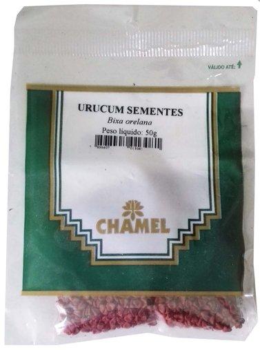 Urucum Sementes Chamel 50g