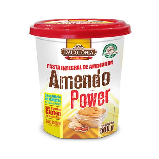 Pasta de Amendoim Integral DaColonia 500g