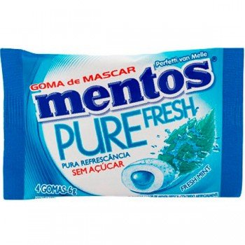 Mentos Pure Fresh Mint 6g 4 Gomas