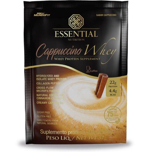 Whey Protein Hidrolisado e Isolado Cappuccino Essential Nutrition Sachê 30g