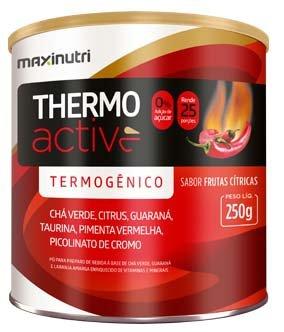 Thermo Active Frutas Cítricas Maxinutri Termogênico 250g - 7898593050242