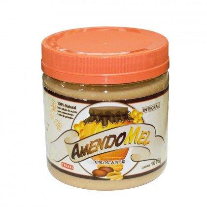 Pasta de Amendoim Crocante/Mel e Cacau Amendomel Thiani 500g