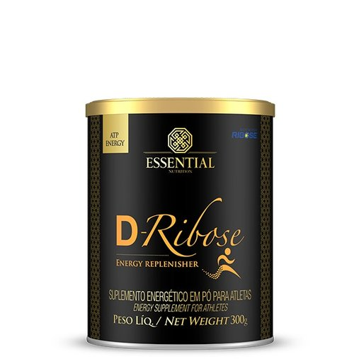 D-Ribose Carboidrato de Rápida Absorção Essential Nutrition 300g