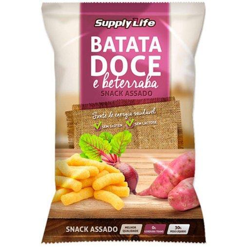 Snack Assado Batata Doce Supply Life 30g