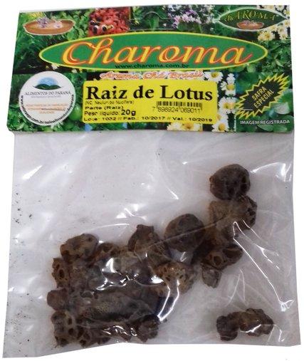 Raiz de Lotus Charoma 20g