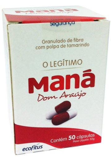 Maná Dom Araujo 50 Cápsulas