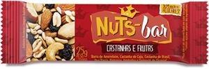 Barra Nuts Bar Castanha e Frutas Banana Brasil 25g