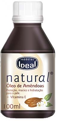 Óleo Puro & Natural de Amendoas Doce com Vitamina E Dr. Ideal 100mL