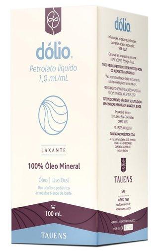 Dólio Óleo Mineral 100% Tauens 100mL