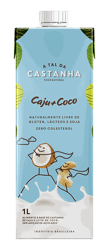Bebida Vegetal Caju e Coco A Tal da Castanha 1L