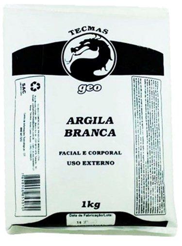 Argila Branca Tecmas Geo 1kg