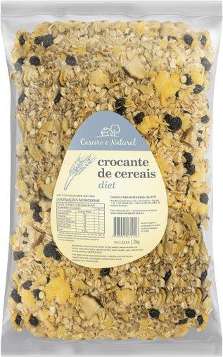 Granola Crocante de Cereais Diet Caseiro e Natural 1Kg