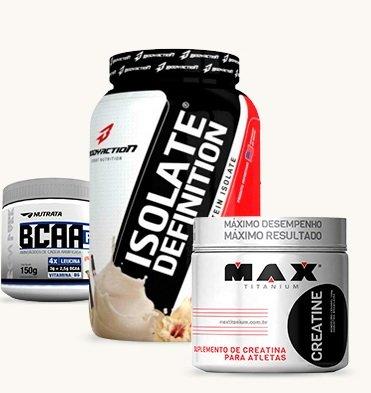Kit Para Massa Muscular