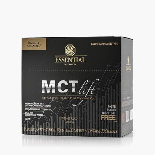 MCT Lift Ultra Concentrado Pure Coconut Oil 20 sachês 15mL