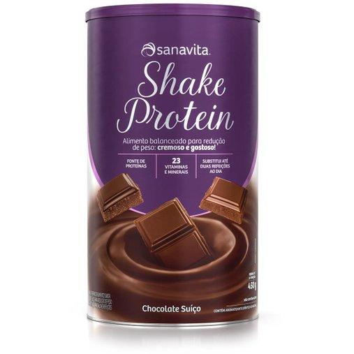 Shake Protein Chocolate Suiço Sanavita 450g