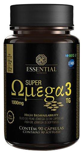 Super Ômega 3 1000mg Essential Nutrition 90 Cápsulas